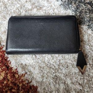 Authentic Louis Vuitton zipper long wallet